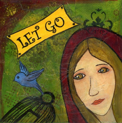 Let Go Little Red Wisdom, cherilynclough.com, http://www.redbubble.com/people/littlered7/works/21763451-let-go-little-red-wisdom