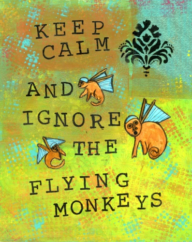 Flying Monkeys, LittleRedSurvivor.com, CherilynClough.com