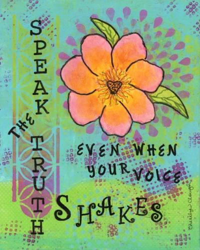 Speak-The-Truth, cherilynclough.com,http://www.redbubble.com/people/littlered7/works/13762555-speak-the-truth-healing-flowers?c=540575-healing-flowers