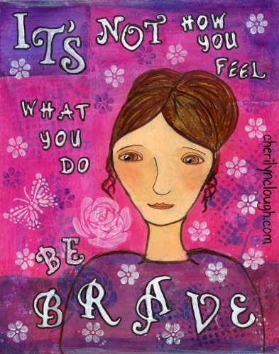 Owning our story and loving ourselves through that process is the bravest thing that we will ever do.  -Brene Brown