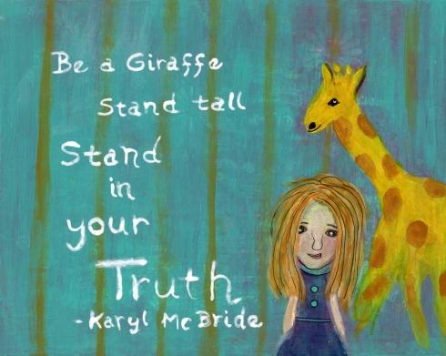 Giraffe Girl, cherilynclough.com, http://www.redbubble.com/people/littlered7/works/13707419-giraffe-girl?c=541752-inner-child