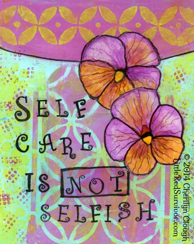 Self-Care is Not Selfish Meme