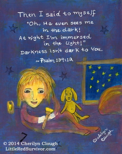 Child's Starry Night, cherilynclough.com