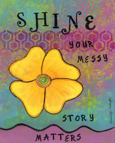 Shine, Little Red Survivor, Cherilyn Clough