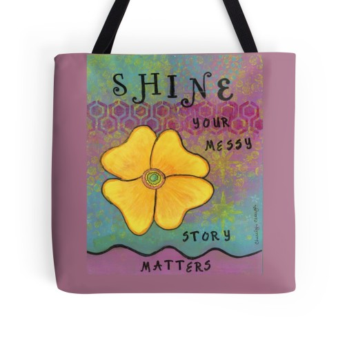 Shine Flower Tote