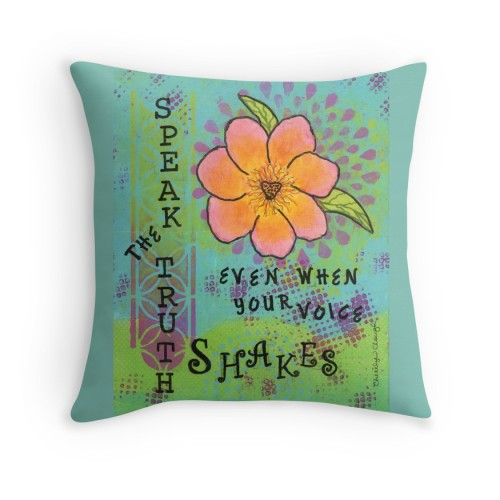 Speak the Truth Pillow
