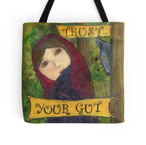 Trust Your Gut Tote