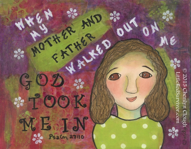 God Took Me In, Cherilyn Clough, LittleRedSurvivor.com