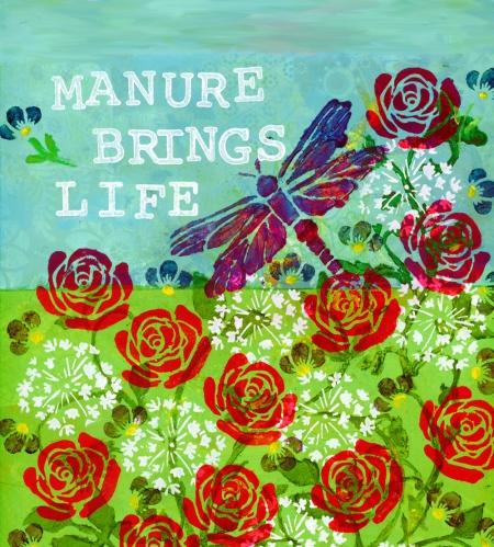 Manure Brings Life, Cherilyn Clough, LittleRedSurvivor.com