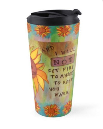 My Own Person Travel Mug, CherilynClough.com, LittleRedSurvivor.com
