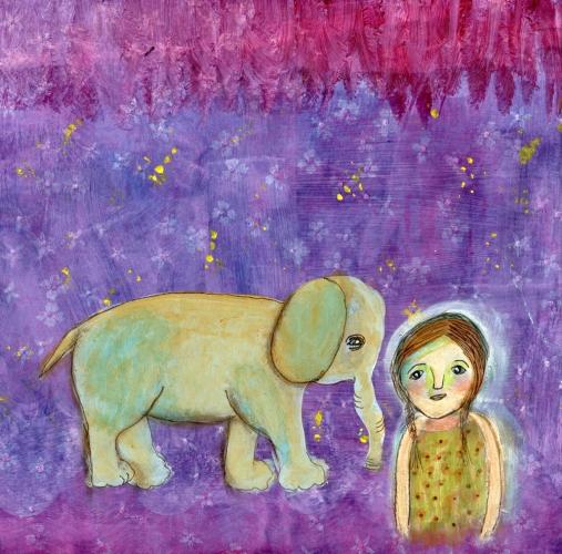 Elephant Girl, CherilynClough.com, LittleRedSurvivor.com