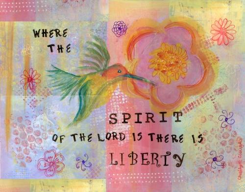 Hummingbird Liberty, CherilynClough.com LittleRedSurvivor.com