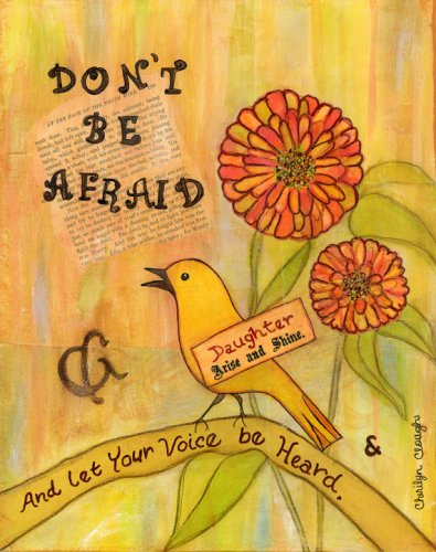 Don't Be Afraid, cherilynclough.com, http://www.redbubble.com/people/littlered7/works/15835854-dont-be-afraid-survive-to-thrive?c=540742-survive-to-thrive