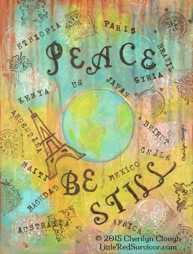 Peace be Still, CherilynClough.com, LittleRedSurvivor.com