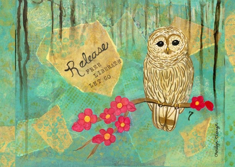 Sophia Owl, cherliynclough.com, http://www.redbubble.com/people/littlered7/works/22403369-sophia-owl?c=541259-soul-sanctuary