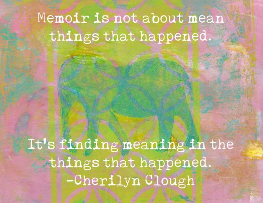 Memoir Elephant, cherilynclough.com, https://www.redbubble.com/people/littlered7/collections/612857-elephants?asc=u
