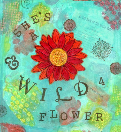 She's a WildFlower, cherilynclough.com, https://www.redbubble.com/people/littlered7/works/26316573-shes-a-wildflower?asc=u&c=541259-soul-sanctuary