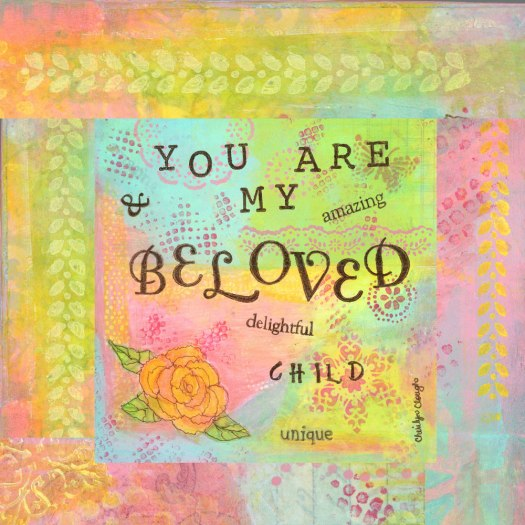 You Are My Beloved, cherilynclough.com,https://www.redbubble.com/people/littlered7/collections/317908-affirmations-from-abba?asc=u